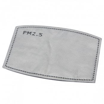 PM2.5 Replaceable Carbon Filters For Face Masks – Pack of 10